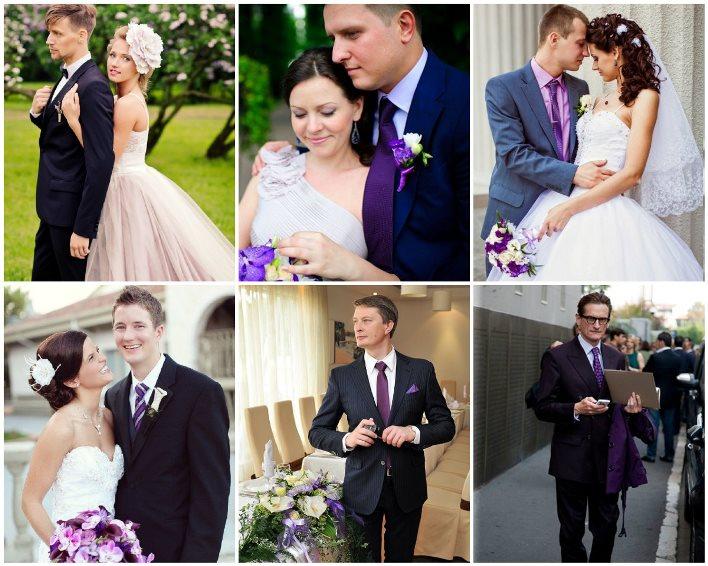 4ea1d459b89c4dc Свадьба в сиреневом цвете: идеи оформления, наряды молодоженов и ...