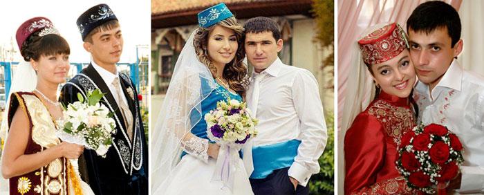 6775e50dd4d7 Традиции татарской свадьбы  обряд никах, свадебные наряды ...