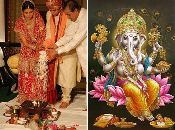 Традиция: поклонение индийскому богу Ганеше