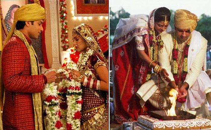 Обряд венчания в Индии