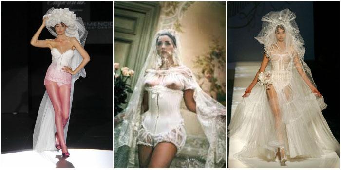 Фото эротических нарядов для свадьбы