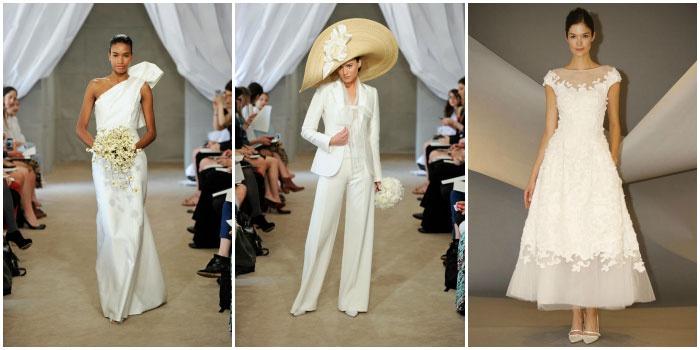 Фото свадебных платьев от Carolina Herrera
