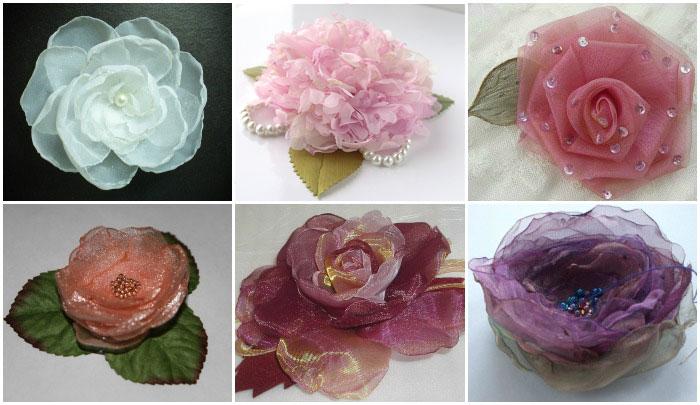 Искусственные цветы своими руками мастер класс видео фото 189