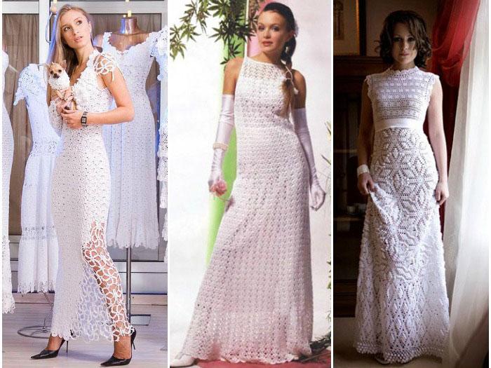 d2547ebebbd Свадебное платье своими руками: как сшить и связать наряд с фото и видео
