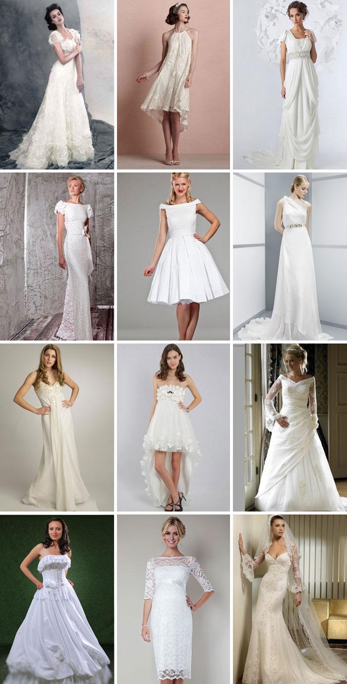 b5f4ecba103e155 Свадебное платье для маленькой груди: фото фасонов и моделей