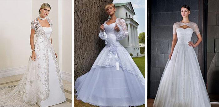 3a0b4dcd7a03553 Модели с накидкой. Свадебное болеро – эффектная деталь наряда новобрачной с маленькой  грудью.