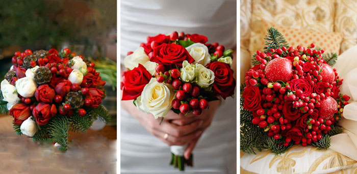 Свадебный букет с ягодами в 2019 году