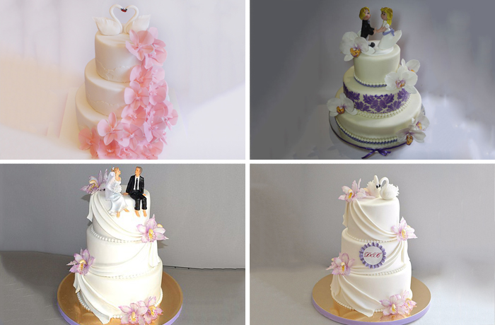 Десерты с фигурками