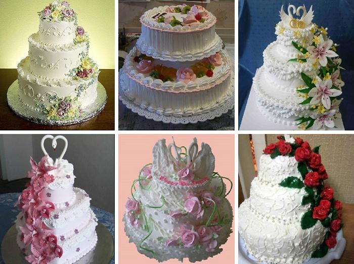 то, свадебные торты из крема фото и сборка твоя