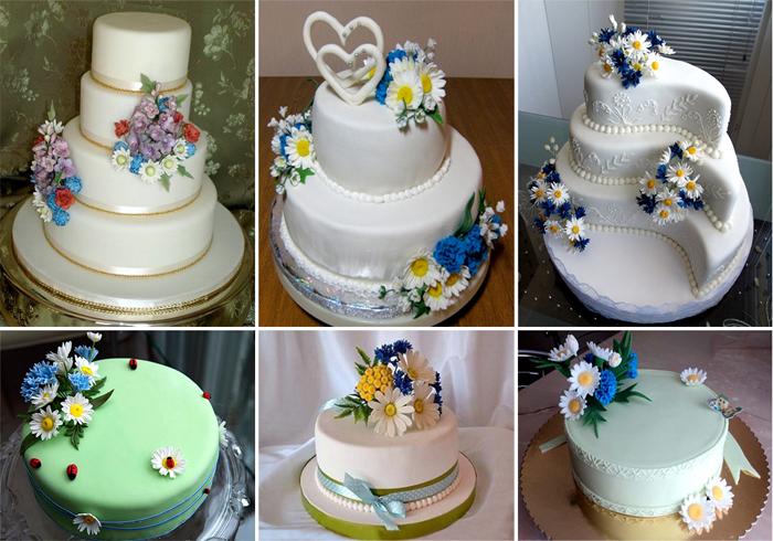 Свадебный торт в украинском стиле: оригинальные идеи оформления