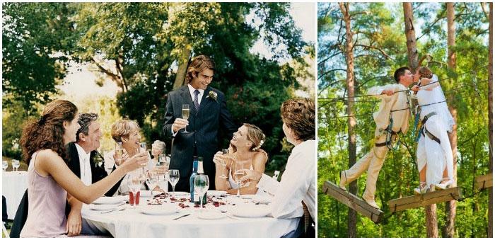 Празднование веревочной свадьбы