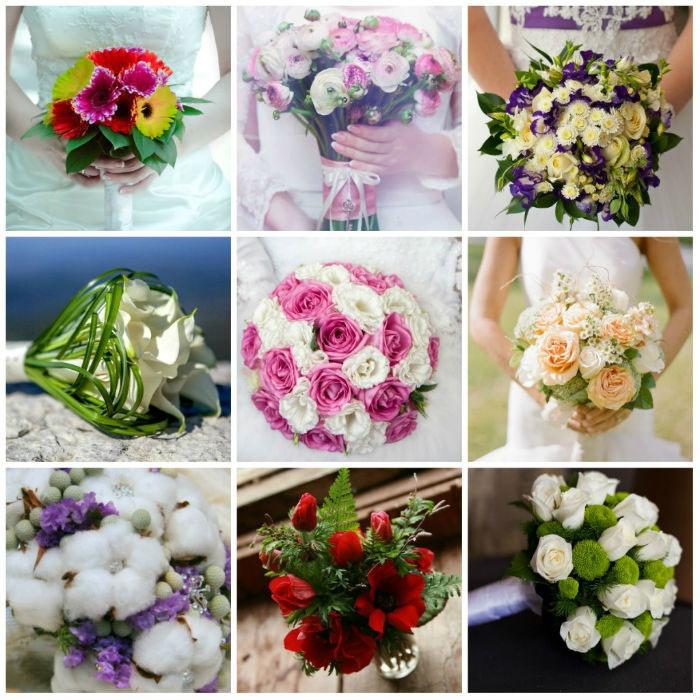 Виды цветочных композиций на свадьбу