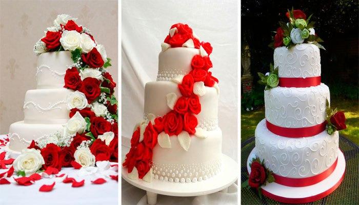 Торты к рубиновой годовщине свадьбы