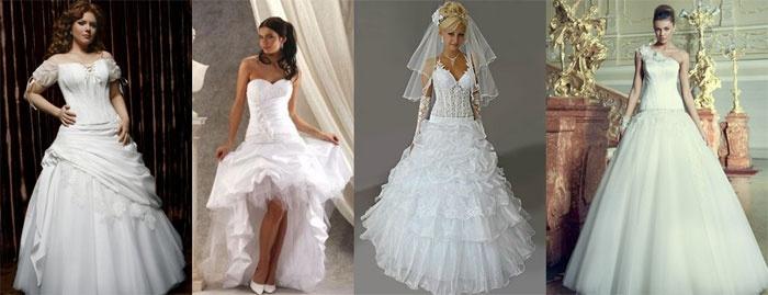 Фото свадебных платьев для беременных невест с заниженной талией