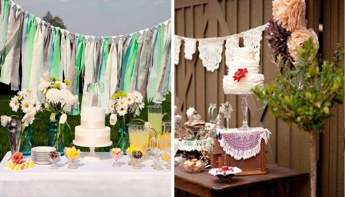 Декор на ситцевую свадьбу фото