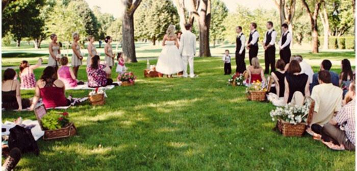 Идея свадебного праздника – пикник