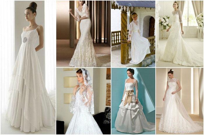 Скромные наряды для венчания