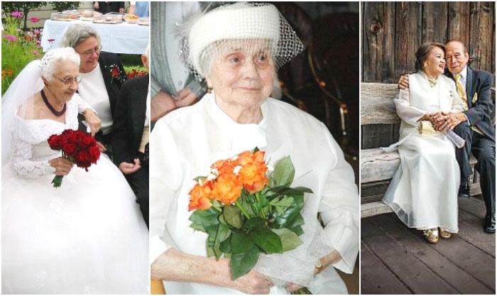 Венчальные платья невестам в возрасте