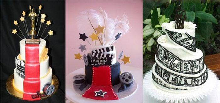 Торт на кино-свадьбу