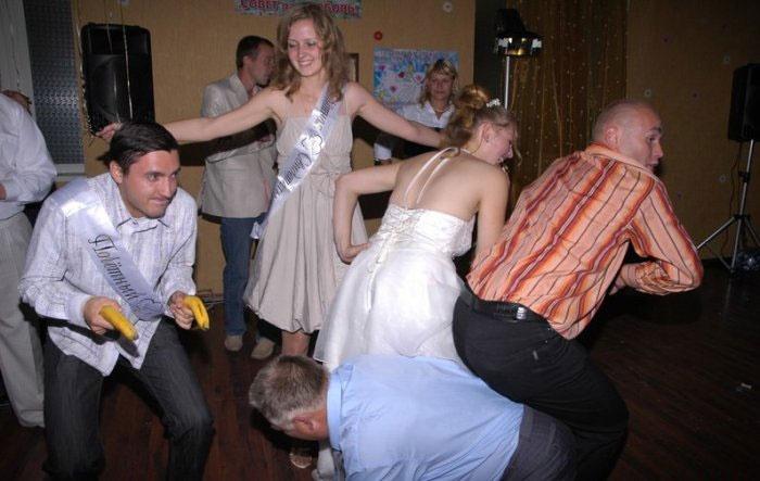 Увлекательный конкурс с участием свидетеля на свадьбе