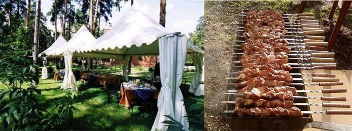 Отмечаем свадьбу без банкета, но с шашлыками