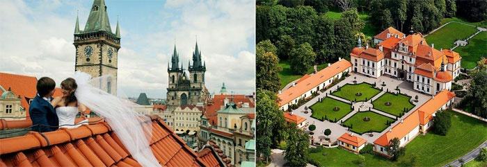 Живописные исторические места для свадьбы без банкета