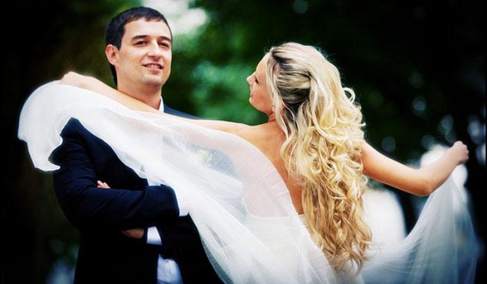 Свадьба без банкета: первый танец молодоженов