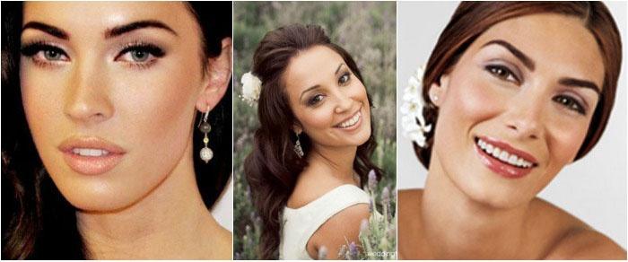 Свадебный макияж: фото для смуглых брюнеток