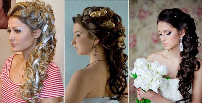Греческий хвост для подружки невесты