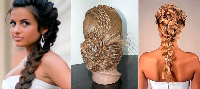 Варианты кос для подружке невесты