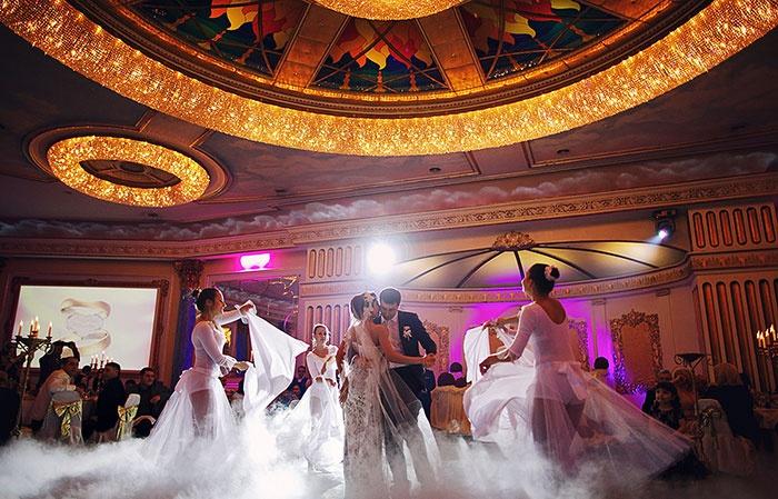 Русский свадебный обычай: первый танец