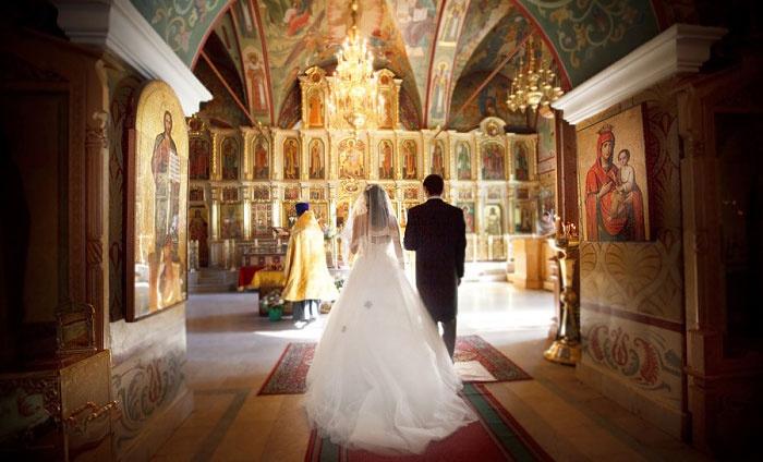 Свадебная традиция: венчание