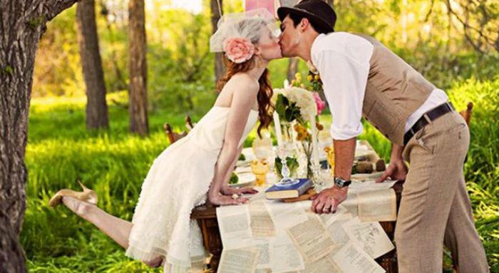 Фото: как отметить ситцевую свадьбу