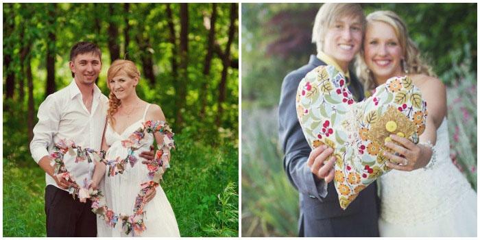 Съемка в свадебной одежде