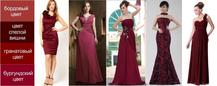 Варианты бордового платья мамы жениха