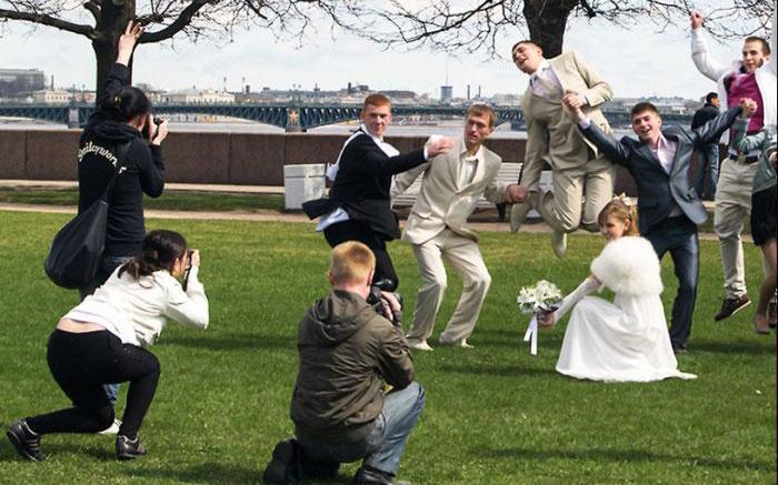 Малобюджетная свадьба: фото и видеосъемка торжества