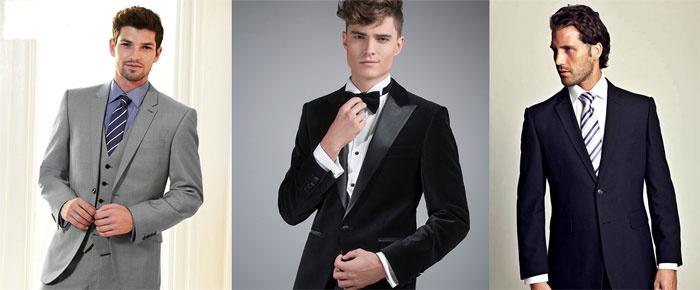 Яркий свадебный комплект для стройного мужчины