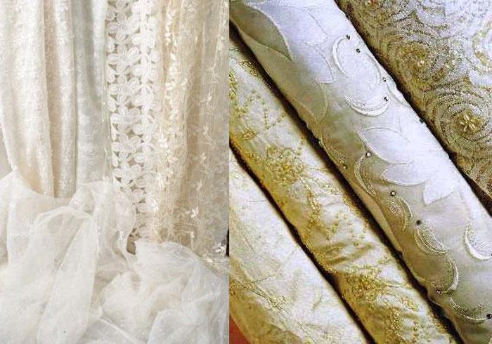 Ткани на свадебные наряды для полных