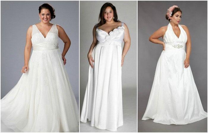 Фасоны в греческом стиле полным невестам