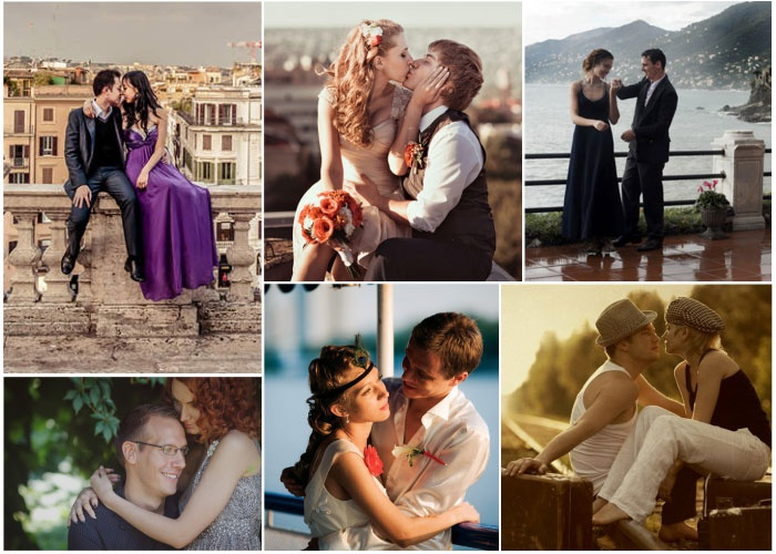 Фотосессия love-story во время никелевой годовщины