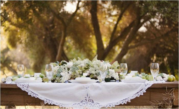 Декор помещения для кожаной свадьбы: стиль кантри
