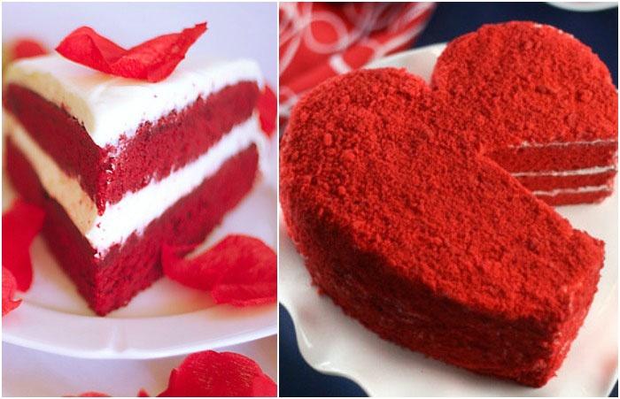 Красный торт для 100-летнего юбилея свадьбы