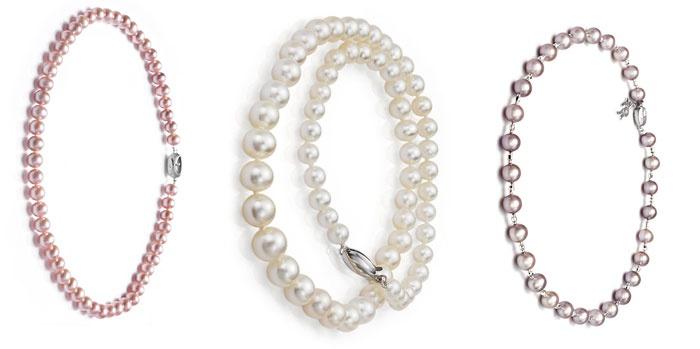 Ожерелье из жемчуга к годовщине свадьбы