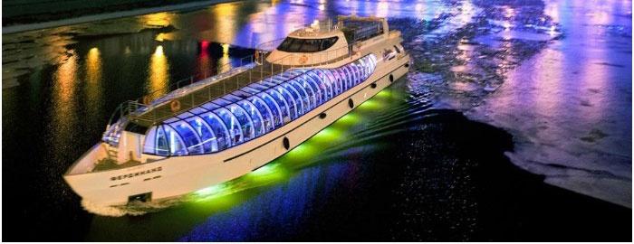 Свадебная яхта-ресторан Фердинанд
