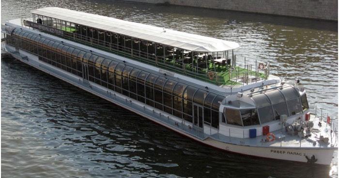 Яхта-ресторан Ривер Палас для свадьбы