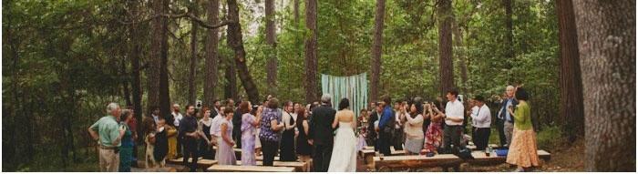 Свадьба на территории туманного леса