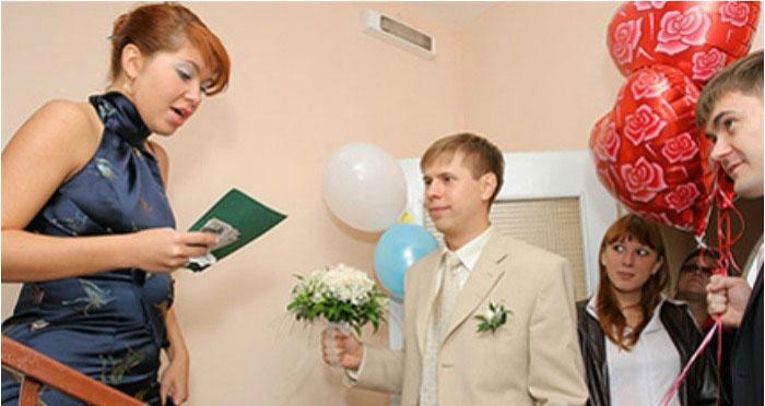 Выкуп невесты в стиле кинопроб