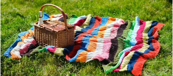 Романтичный пикник – прекрасный способ отмечать годовщину