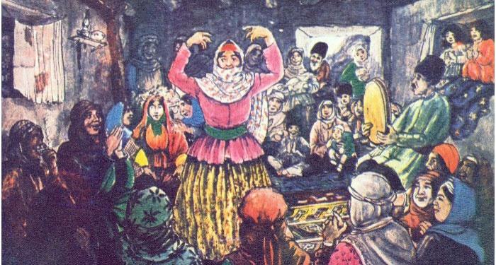 Предсвадебные хлопоты азербайджанских семей