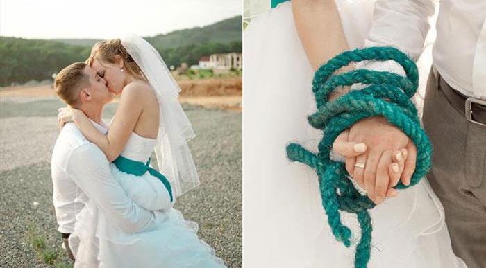 Выкуп невесты в стиле путешествия